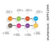business timeline element for...   Shutterstock .eps vector #369911444