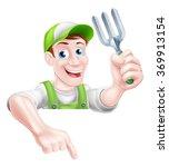 A Cartoon Gardening Mascot...