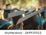 selective focus on graduation...   Shutterstock . vector #369919313