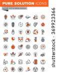 set of thin line web icons for... | Shutterstock .eps vector #369923366