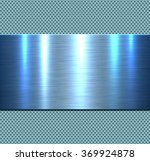Background  Polished Blue Meta...