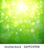 green sunny background ... | Shutterstock .eps vector #369924908