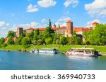a view of wawel castle located... | Shutterstock . vector #369940733