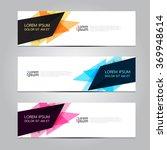 vector design banner... | Shutterstock .eps vector #369948614