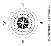 compass navigation dial  ... | Shutterstock .eps vector #369960134
