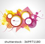 vector abstract background | Shutterstock .eps vector #369971180