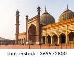 jama masjid  old town of delhi  ... | Shutterstock . vector #369972800