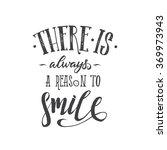 motivation hand drawn poster.... | Shutterstock .eps vector #369973943