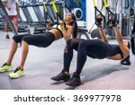 Woman Exercising With...