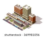vector isometric icon or... | Shutterstock .eps vector #369981056
