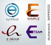 logo e design   corporate... | Shutterstock .eps vector #369990533