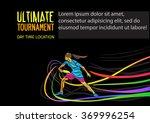 ultimate sport  flying disc...   Shutterstock .eps vector #369996254