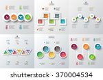 abstract infographics number... | Shutterstock .eps vector #370004534