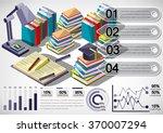 illustration of infographic... | Shutterstock .eps vector #370007294