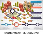 illustration of info graphic... | Shutterstock .eps vector #370007390