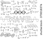 wave physics science theory law ... | Shutterstock .eps vector #370018376