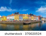 nyhavn district is one of the... | Shutterstock . vector #370020524