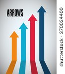 arrows icons design | Shutterstock .eps vector #370024400