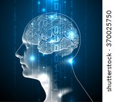Concept Of Active Human Brain...