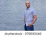 portrait of handsome african... | Shutterstock . vector #370033160