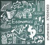 economics and financial... | Shutterstock .eps vector #370034303