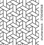 vector modern seamless geometry ... | Shutterstock .eps vector #370048568