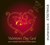 illustration of love | Shutterstock .eps vector #370078418