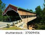 Honeymoon Covered Bridge On Th...