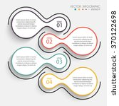 vector colorful info graphics...   Shutterstock .eps vector #370122698
