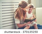 happy family mother child...   Shutterstock . vector #370135250