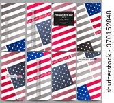 set of modern vector flyers....   Shutterstock .eps vector #370152848