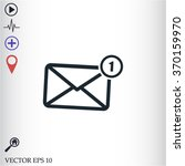 sms vector icon | Shutterstock .eps vector #370159970