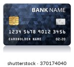 credit card vector illustration ... | Shutterstock .eps vector #370174040