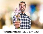 Posh Boy With Flowers On...