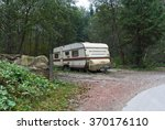 Old Trailer Is In The Woods...