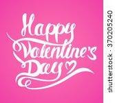 happy valentine's day... | Shutterstock .eps vector #370205240