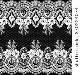 black damask vintage floral... | Shutterstock .eps vector #370224074