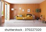 beautiful vintage interior.... | Shutterstock . vector #370227320