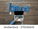 brand identity ideas concept ... | Shutterstock . vector #370236644