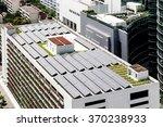 solar rooftop on  building | Shutterstock . vector #370238933