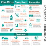 zika virus infographics include ... | Shutterstock .eps vector #370257104