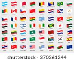 waving flags of the world.... | Shutterstock .eps vector #370261244