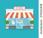 store facade. vector...   Shutterstock .eps vector #370261838