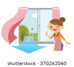 woman to ventilate.    Shutterstock .eps vector #370262060