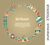 winter concept background.... | Shutterstock .eps vector #370265618