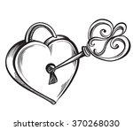 Key Lock In The Shape Of A...
