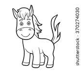 coloring book for children ... | Shutterstock .eps vector #370274030
