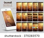 travel mobile application user...