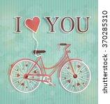 happy valentines day... | Shutterstock .eps vector #370285310