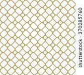 geometric vector golden grid.... | Shutterstock .eps vector #370285760